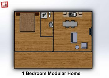 1 Bed Modular Home