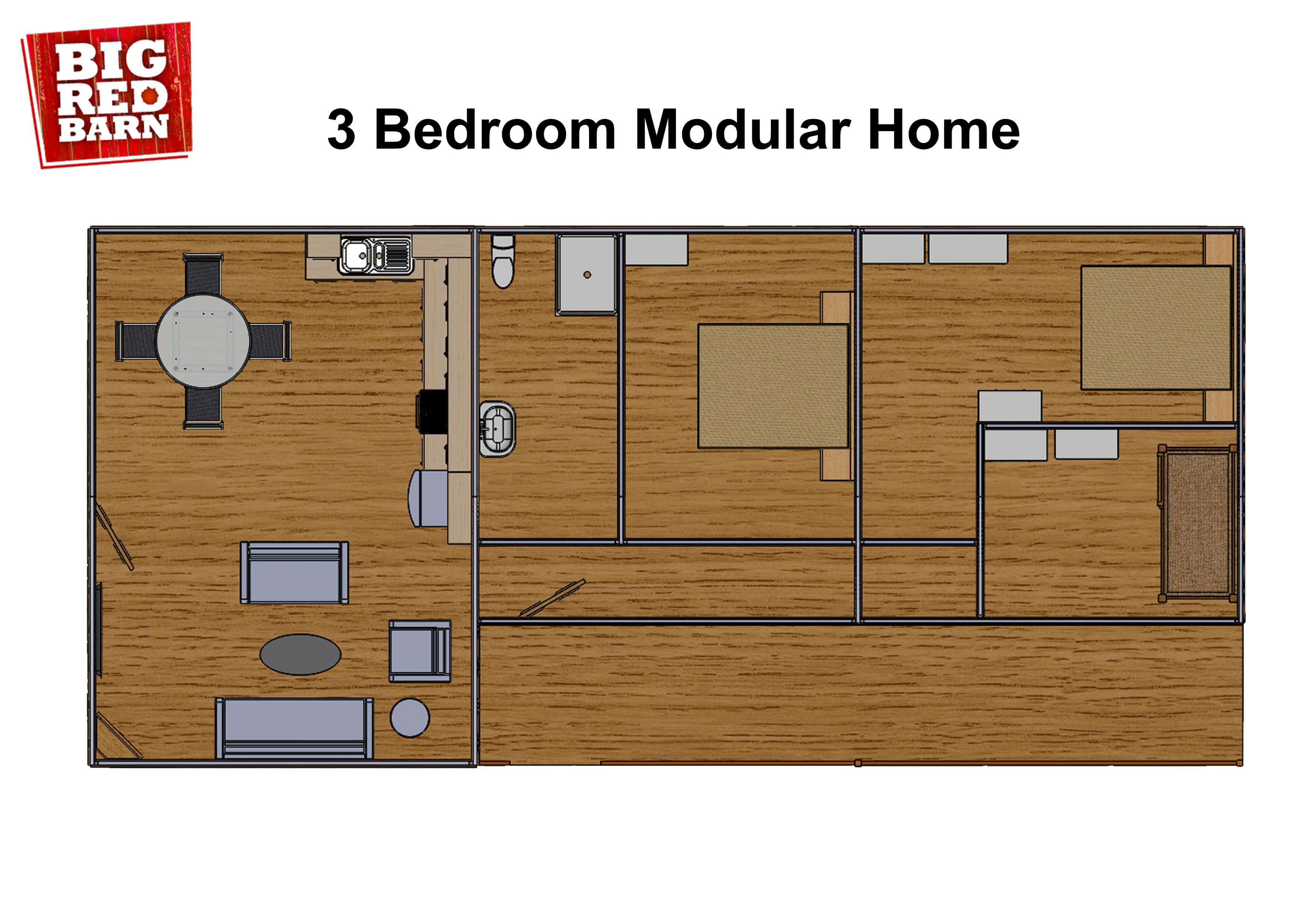 3 Bed Modular Home