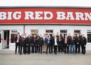 Big Red Barn Staff with Conall OMorain of Today FM